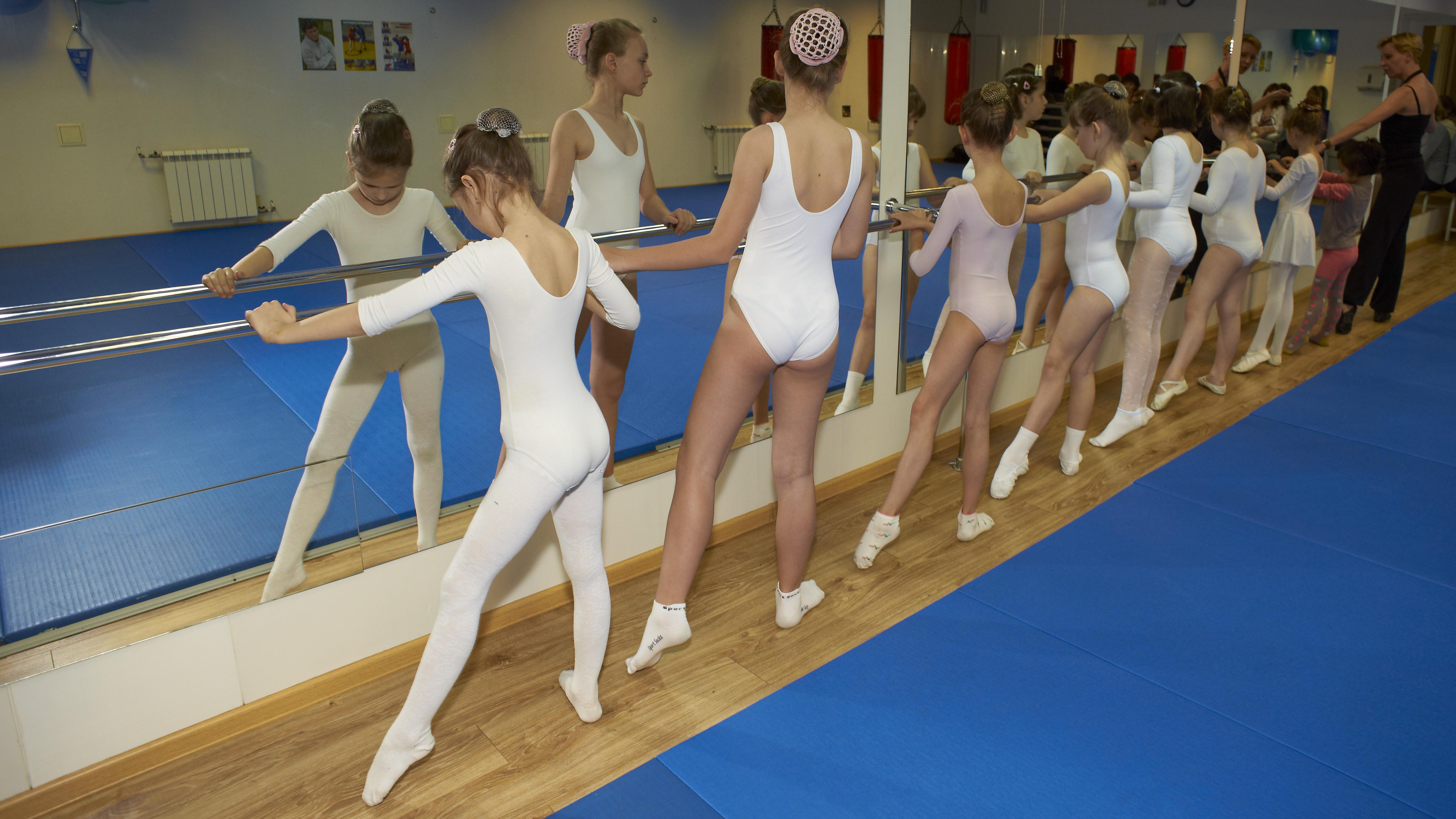 картинки гимнастика детские